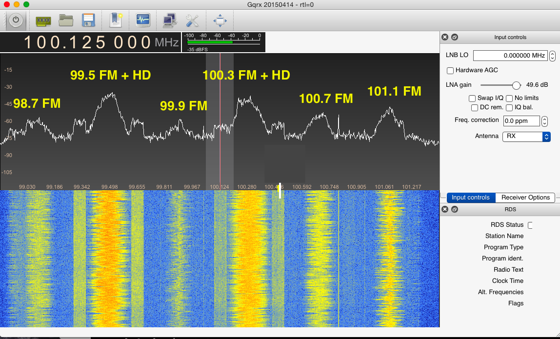 How to capture raw IQ data from the RTL-SDR dongle and FM